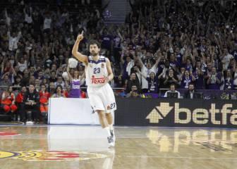 Una noche mágica de Llull lidera al Madrid frente al CSKA