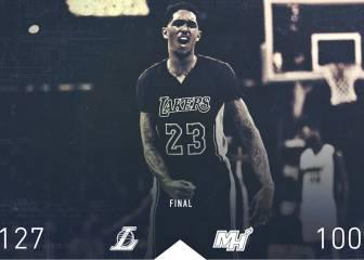 Resumen de Los Angeles Lakers - Miami Heat de la NBA