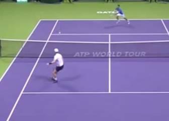 Brutalidad absoluta de punto: esto son Djokovic y Murray
