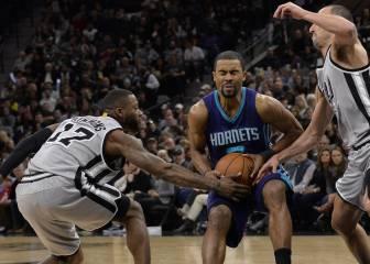 Resumen del San Antonio Spurs - Charlotte Hornets de la NBA