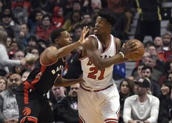 Resumen del Chicago Bulls-Toronto Raptors de la NBA