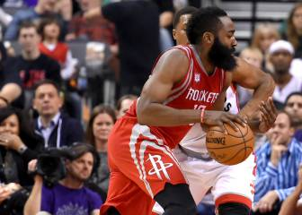 Resumen del Toronto Raptors - Houston Rockets de la NBA