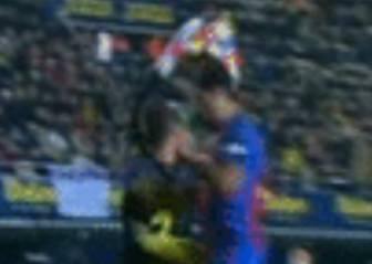 El GIF de la polémica: ¿Hubo agresión de Suárez a Asenjo?