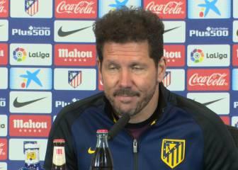 Preguntan a Simeone por Piqué y responde con dos palabras