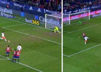 El gafe del Valencia en 6': Parejo falló un penalti y Clerc empató