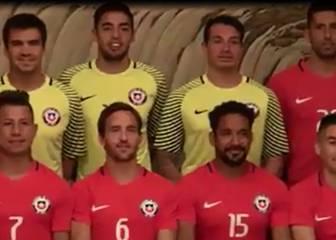 Así fue la sesión de fotos de la Roja para la China Cup