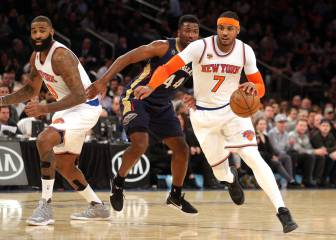 Resumen del New York Knicks - New Orleans Pelicans
