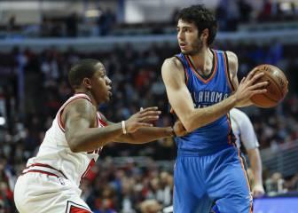 Resumen de Chicago Bulls - Oklahoma City Thunder