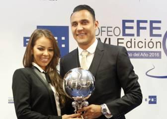 Keylor Navas, Futbolista Iberoamericano del año