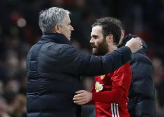 Mata y Fellaini ponen al United a un paso de la final de la EFL
