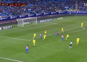 Tiqui-taca del bueno en el Calderón: el 1-0, de videoteca