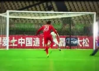 Este fue el golazo de Pinares ante Croacia en la China Cup
