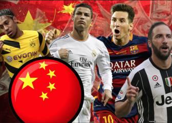 De Cristiano a Messi: ofertas mareantes del fútbol chino