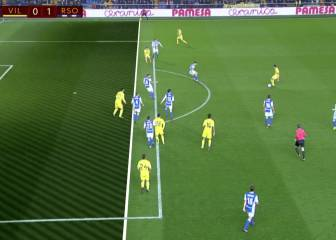 Gol mal anulado a Castillejo por supuesto fuera de juego