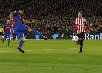 No podía ser más bello el gol 100: tremendo Luis Suárez