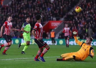 El Southampton sorprende al Liverpool y toma ventaja