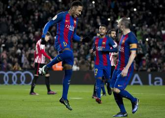 El Barça arregla el mal partido de ida y elimina al Athletic