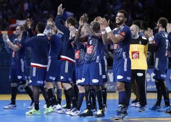 Francia empieza firme goleando a una pobre Brasil