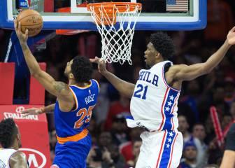 Resumen del Philadelphia 76ers - New York Knicks