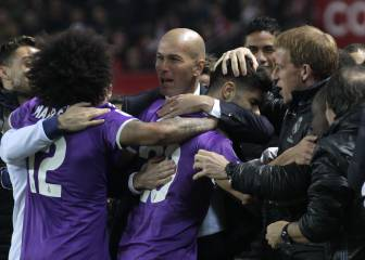 El Real Madrid tira de orgullo para poner a salvo su récord
