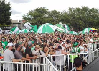 Con murga y banderas, Nacional despide al 'Lobo' Guerra