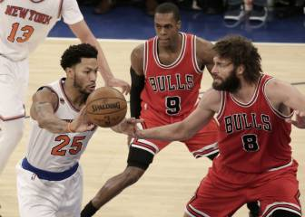 Resumen del New York Knicks - Chicago Bulls de la NBA