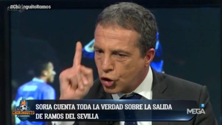 Soria explota y cuenta la verdad sobre la marcha de Ramos