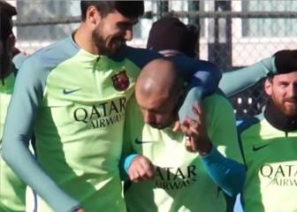 Mascherano no está de humor: así se puso con Andre Gomes