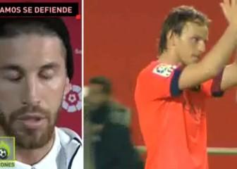 De esto se queja Ramos: los Biris con Rakitic y Alves