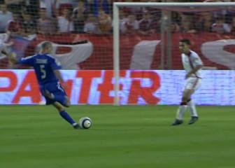 Zidane's piledriver against Sevilla in 2005