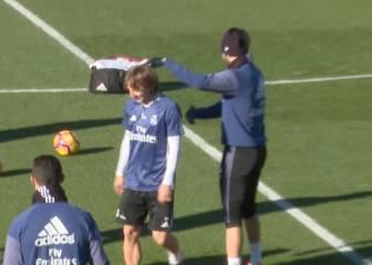 Imposible: Modric no ha podido hacer esta torpeza en el rondo