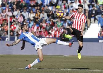 Resumen y goles del Leganés - Athletic de la Liga Santander