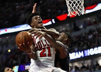 Los Bulls se llevan el partido en un gran duelo Butler-Davis