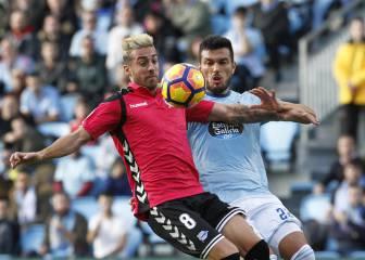 Resumen y goles del Celta - Alavés de la Liga Santander