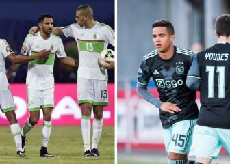 De la eclosión de Kluivert Jr. a un Mahrez estelar en la Copa África