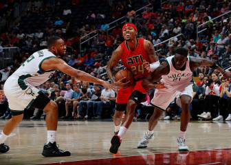 Victoria para los Hawks ante los Bucks con un notable Bazemore