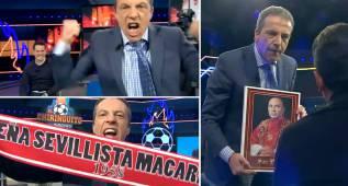 El Cristóbal Soria más loco con 'San Paoli': ¡Lo que sufrió Roncero!