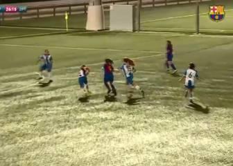 Barça youth starlet Pina scores Messi-esque wonder goal