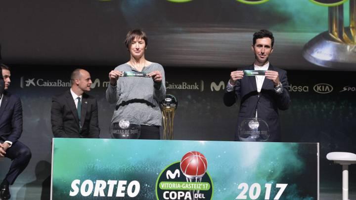 Madrid-Andorra y Barça-Unicaja, cuartos de la Copa