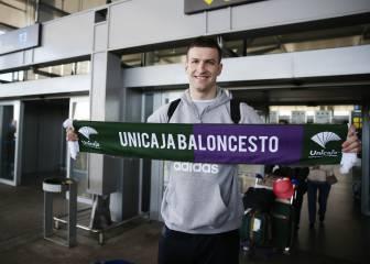 Omic ya está en Málaga como nuevo jugador del Unicaja