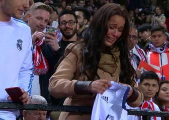 Esto es lo que desata Ramos: temblores y lloros en una fan