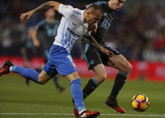 Resumen y goles del Málaga - Real Sociedad de la Liga Santander