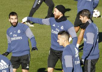 El Real Madrid trabajó con la vista puesta en el Celta