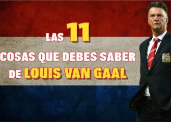 Se retira Louis Van Gaal: las 11 cosas que debes saber sobre él