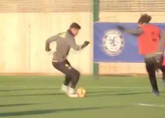 Diego Costa vuelve a los entrenamientos con el Chelsea