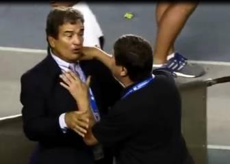 ¡'Bolillo' Gómez y Jorge Luis Pinto casi se van a las manos!