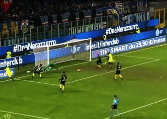 Lo + visto: Medel salvó al Inter en esta jugada del alargue