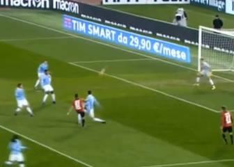 ¡Lujosa definición de Mauricio Pinilla ante Lazio!