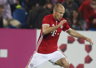 Robben delighted by new Bayern contract extension