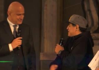 Palo de Maradona a Higuaín en Nápoles: